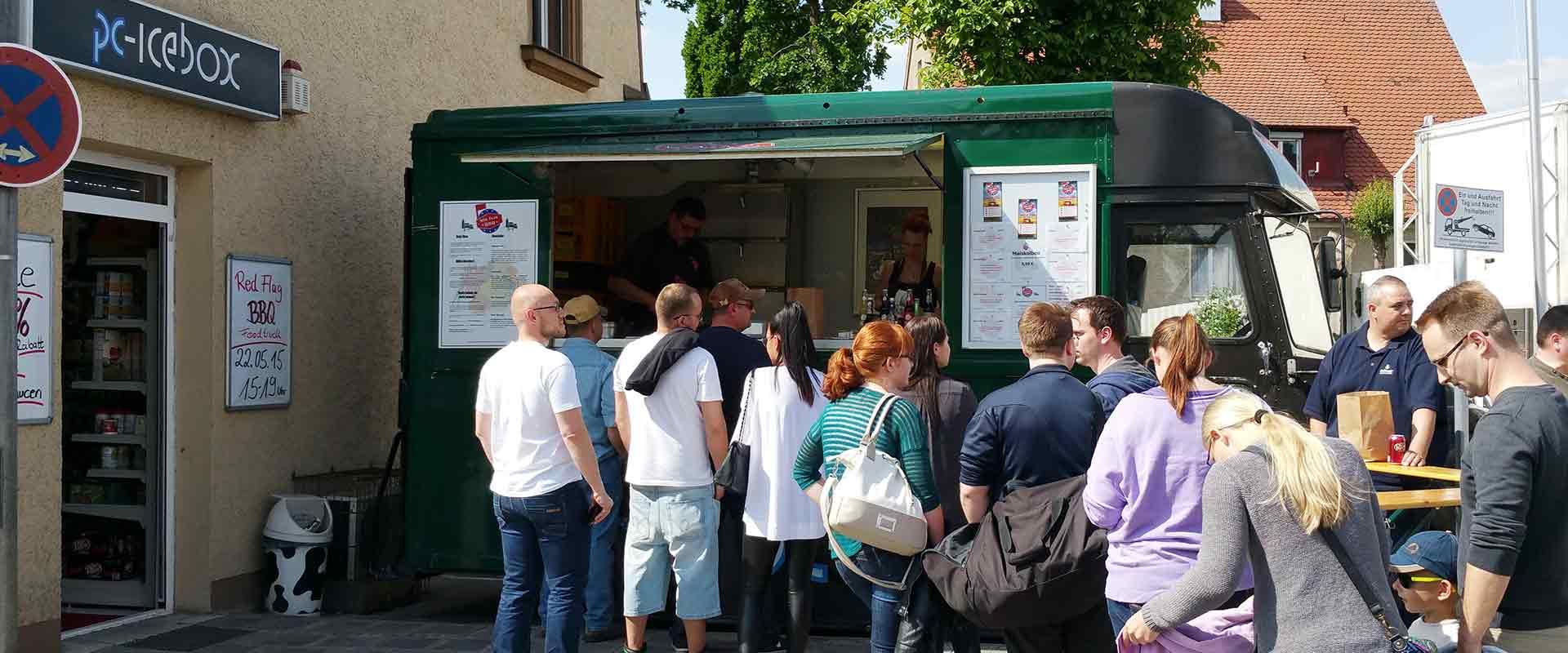 Foodtruck Standort PC-IceBOX