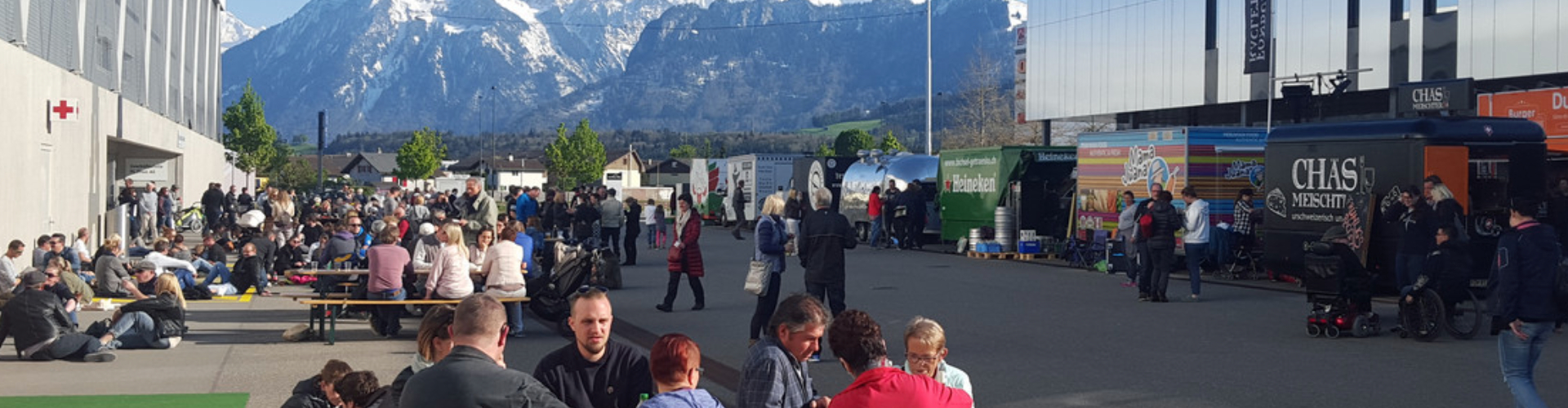 Das Foodtruck Happening in Thun im Frühling