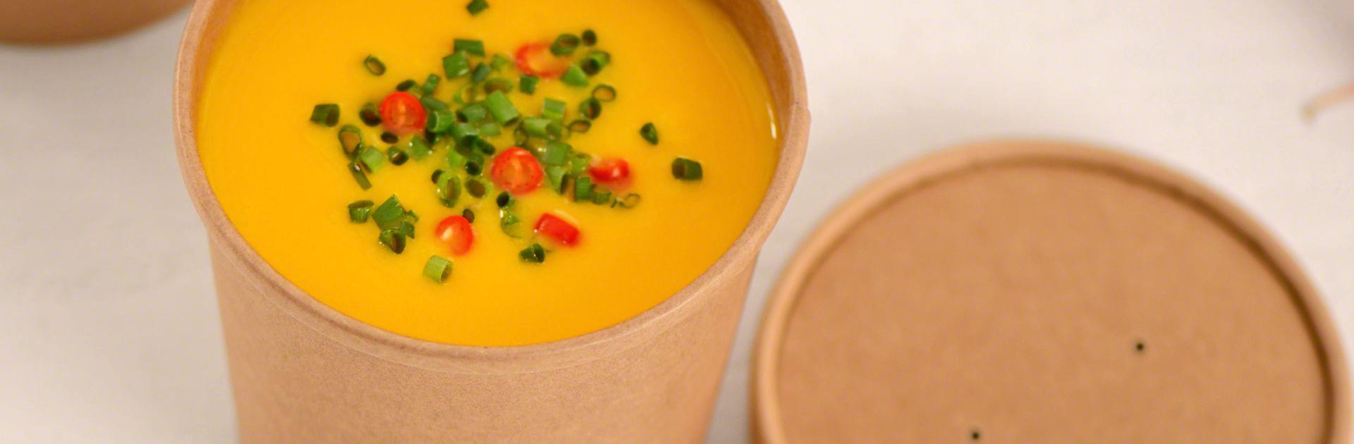 Street Food Suppe Verpackung