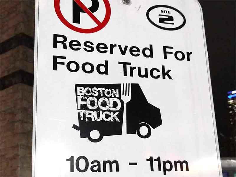 Für Foodtrucks reserviert