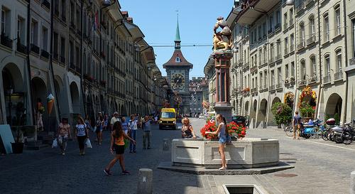 Bern Zytglogge Turm