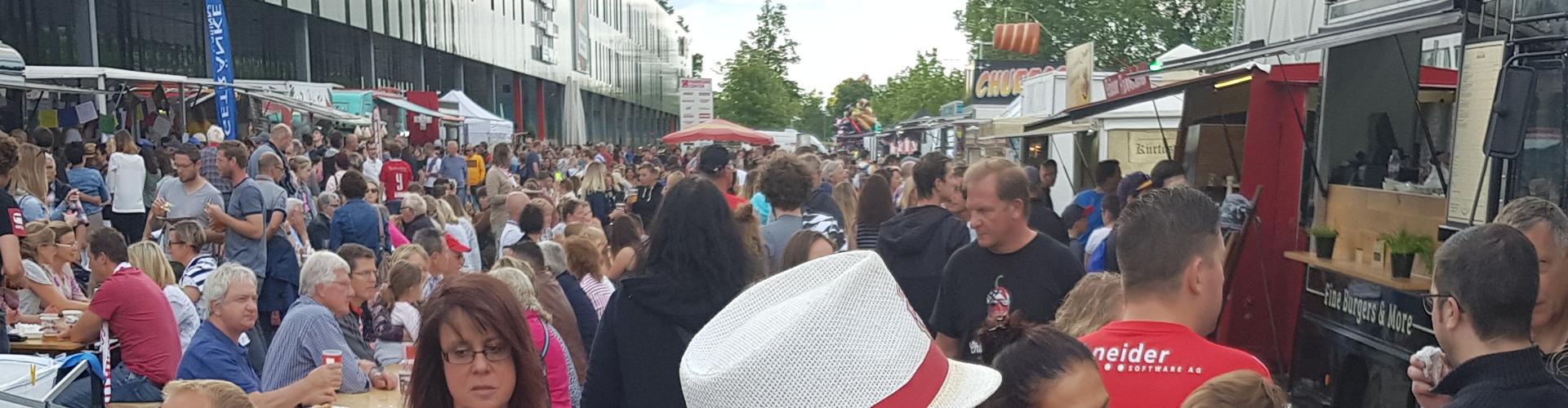 Das Foodtruck Happening Schweiz