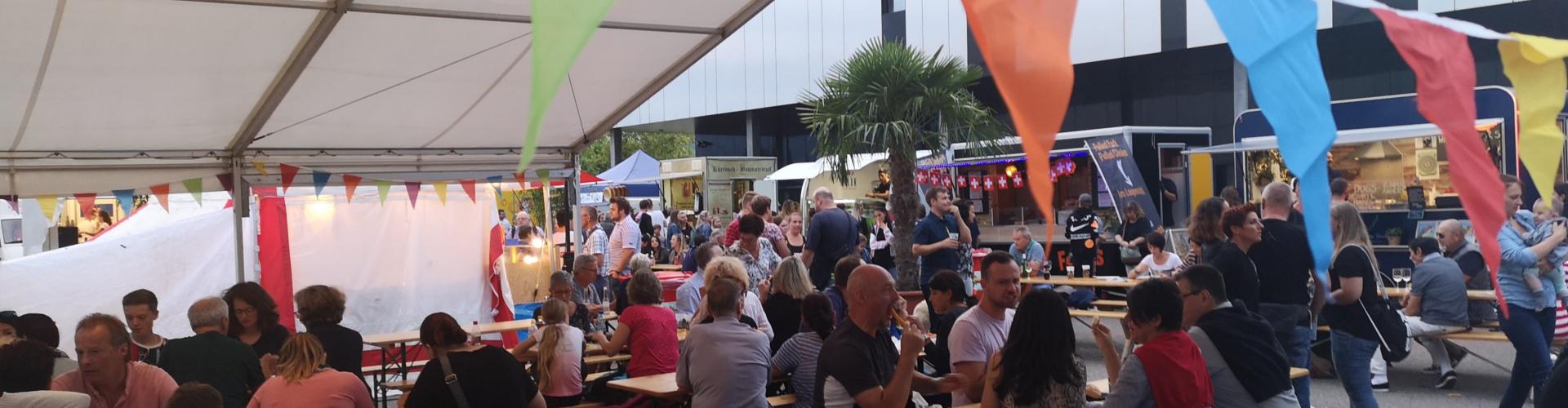 Das Foodtruck Happening findet in verschiedenen Ecken der Schweiz statt.