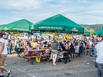 Streetfood Besucher