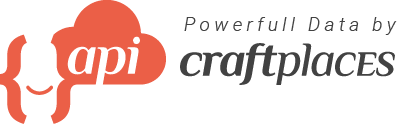 Logo Craftplaces API