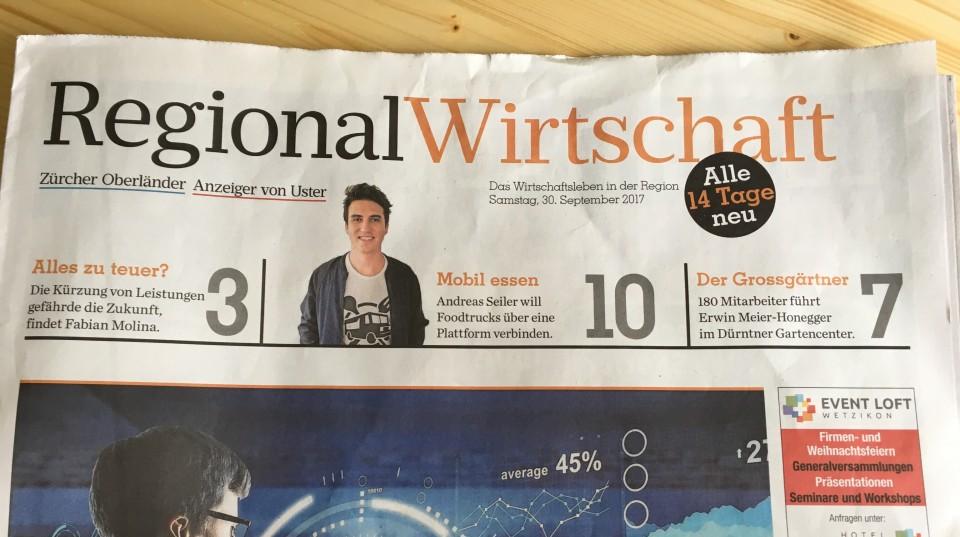 Andreas Seiler Teaser Wirtschaftsbeilage